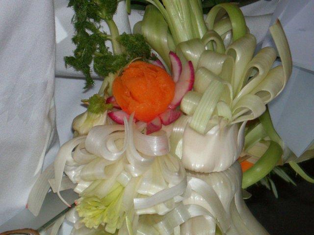 Seminario de tallado de frutas y verduras