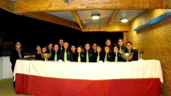 """scuela de Hostelería de Benahavis  ha ofrecido un coctel en la 5ª edición de los Premios de la Revista """"Jugador Doce"""""""