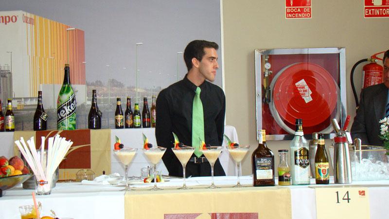 Participación de nuestros alumnos en el X Concurso de Coctelería Cervecera