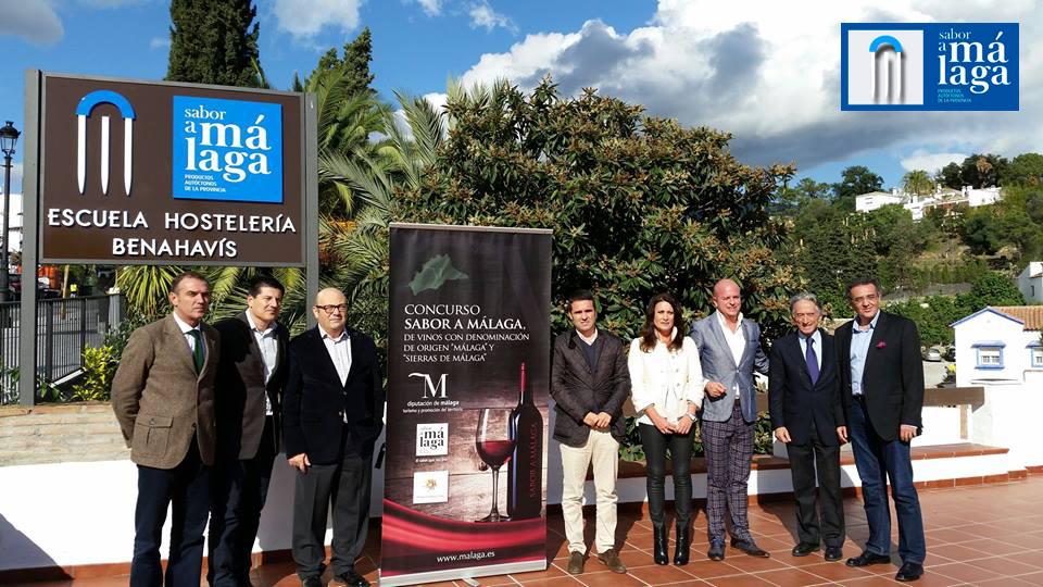 El jurado del II Concurso Provincial Sabor a Málaga de vinos con denominación de origen