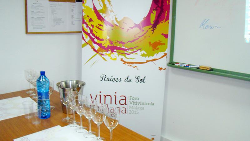 """Cata de 6 tipos de """"Vinos Málaga y Sierras de Málaga"""" con Juan Manuel Moreno del Consejo Regulador de Denominación de Origen de Málaga"""