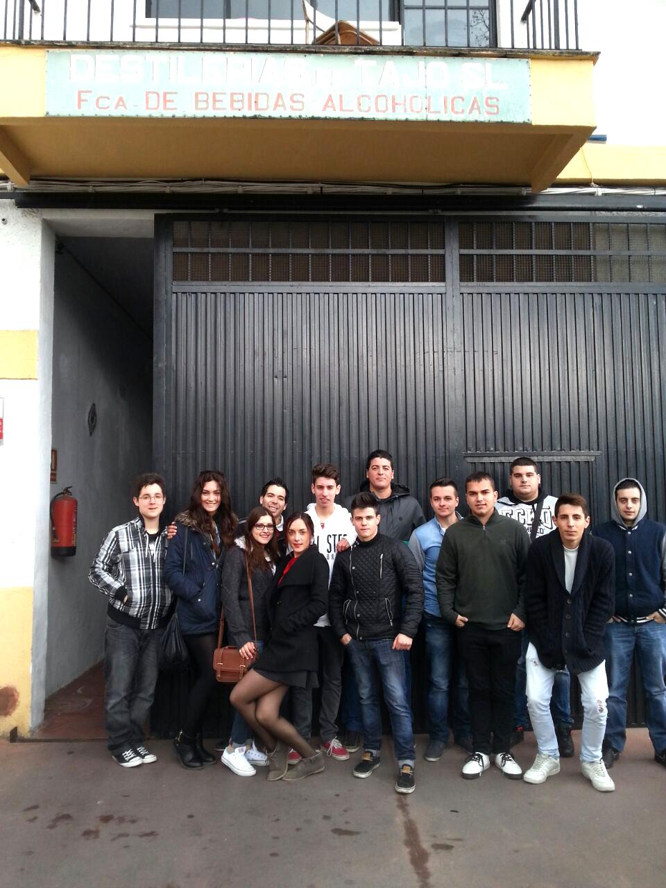 Visita a la Destilería el Tajo