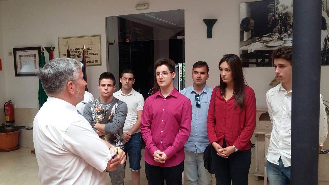 Visita a las instalaciones de la Escuela de Hostelería de La Cónsula