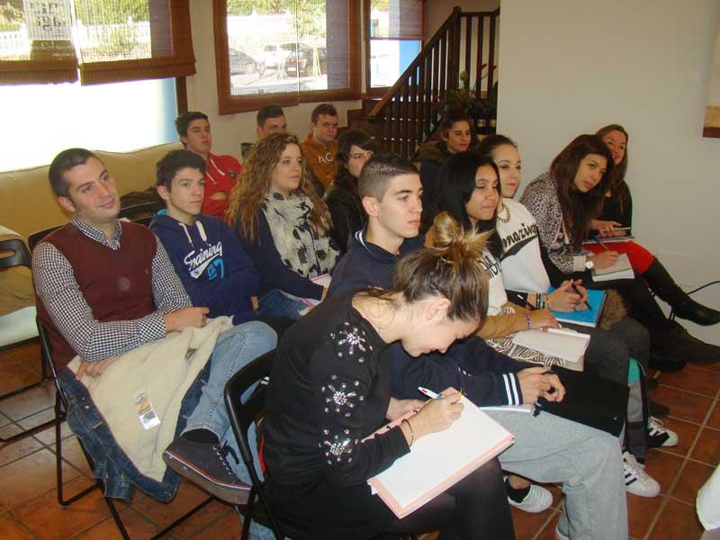 Formación de nuestro alumnos EH. Benahavis con productos MONIN