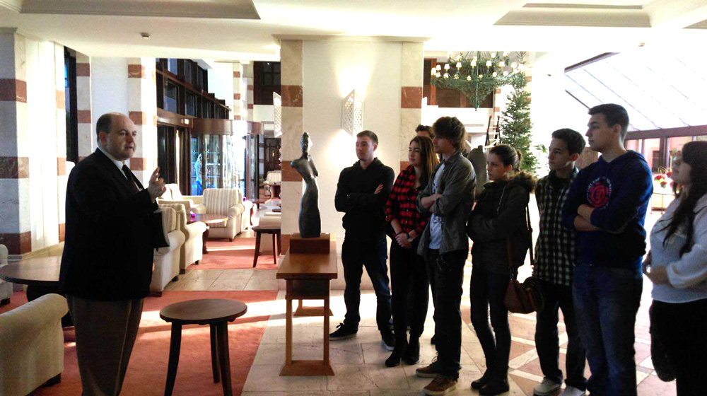 Visita Hotel Kempinski