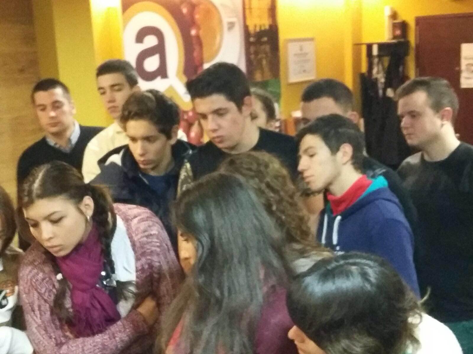 Master Class en las aulas de Café Carambuco en Churriana