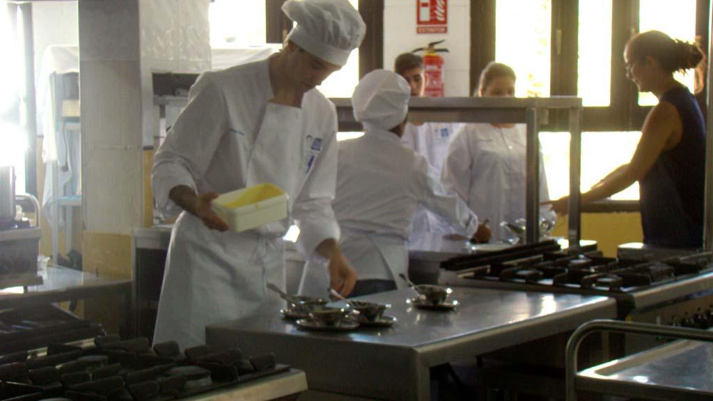 Arranque de las cocinas de nuestros alumnos 2016