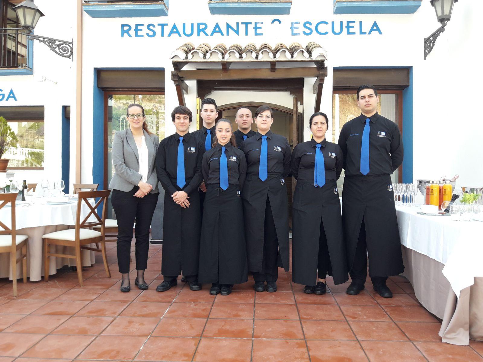 Desayuno de críticos gastronómicos en la Escuela de Hostelería de Benahavís